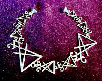 Sigil of Lucifer Bracelet