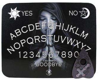 Gothic Ouija Spirit Board - Ouija Gothic Spirit Board Witch Satanic Sceance Divination Demonic