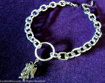 Baphomet Chain Choker