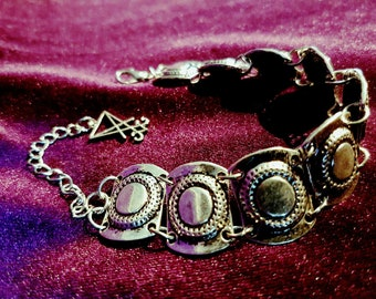 Luciferian Shield Bracelet