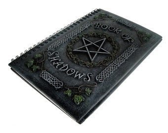 Book Of Shadows - Book Of Shadow Witch Journal Grimoire Witchcraft Altar Ritual pentagram