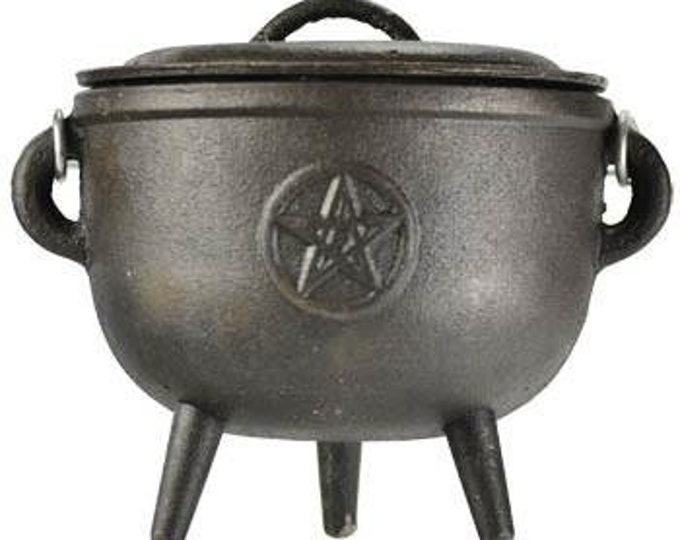 Cauldron Pentagram - Cauldron Pentagram Offerings Incense Witch Craft Ritual Invocation