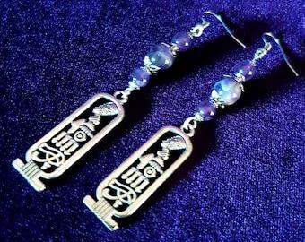 Egyptian Amethyst Earrings