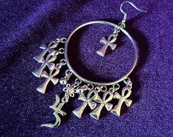 Sopor Aeternus Ankh Earrings
