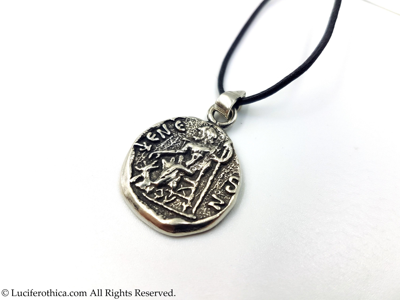 Hades Pendant (Olympian God of the Underworld | Pluto)