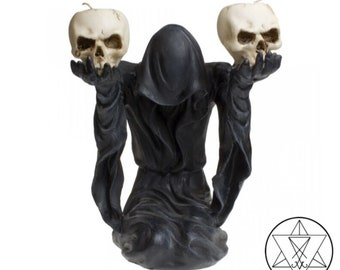 Bow to Darkness Candle Holder