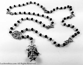 Baphomet Rosary.