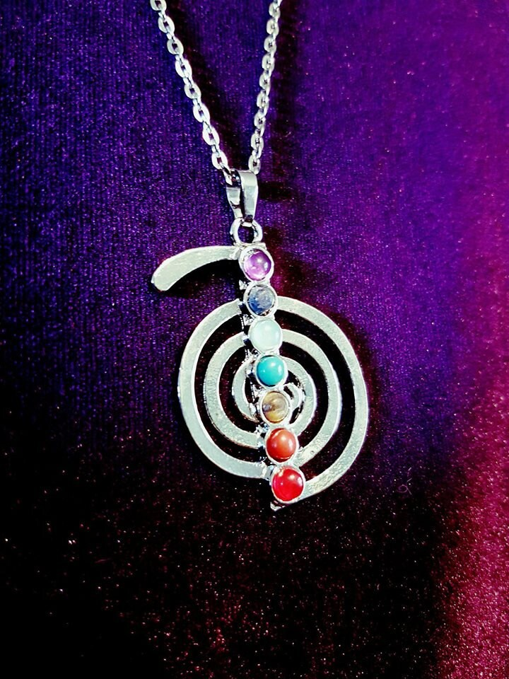 Cho Ku Rei Necklace Spiritual Reiki Master Necklace Power Symbol