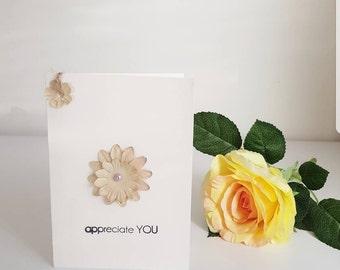 Appreciate you single card