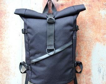 Black Canvas Backpack d7f94fd47dee3