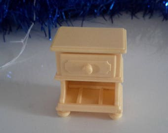 miniature House bedside table playmobil