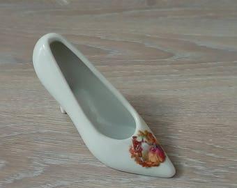 Porcelain decor marquise shoe decoration