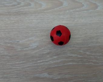 Toy ball bouncing soccer ball