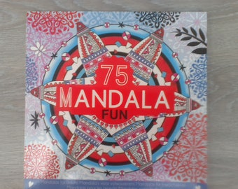 Coloring mandala 75 relax children and adults