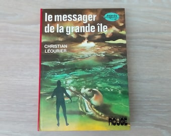 Children's book the Messenger of the big island leourier