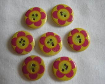 FANCY baby buttons 7 / / 20 mm
