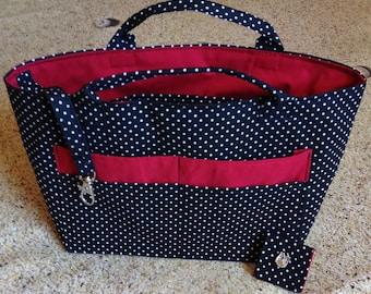 Polka dot bag Organizer