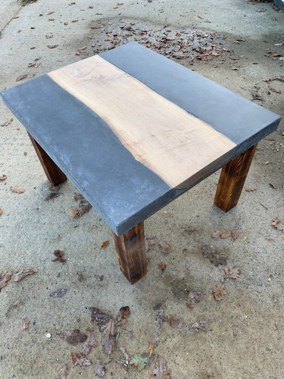 Bespoke concrete coffee table