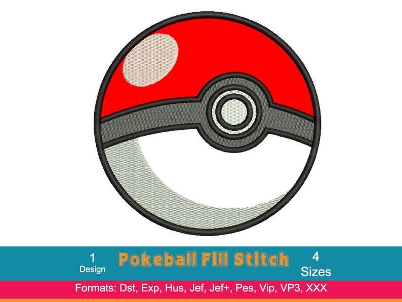 3968f4b700 Disegno ricamo Pokeball Pokemon Go Team Valor Mystic Team | Etsy