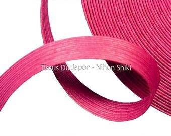 10 meters basketry - strip of paper basketry - strips of kraft paper - paper weaving basketry - corrugated kraft paper rose TV29