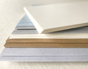 Blank note cards with envelopes, blank cards with envelopes, stationery stationary set note cards with colored envelopes Set of 20, 40 or 60