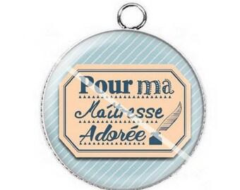 For mistress a7 cabochon pendant