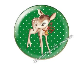 resin cabochon is 25 mm Christmas stick bba28