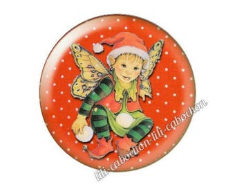 resin cabochon is 25 mm Christmas stick bba26