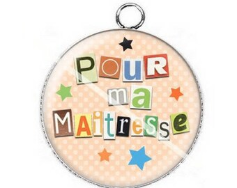 For mistress a14 cabochon pendant