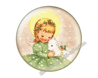resin cabochon is 25 mm Christmas stick bba16