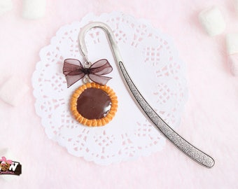 Bookmarks - chocolate tart