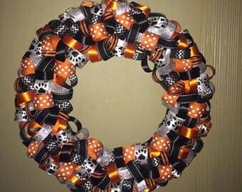 Custom Made Ribbon Wreath