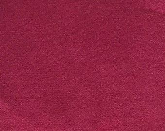 Wine Red Velvet Pillow Cover