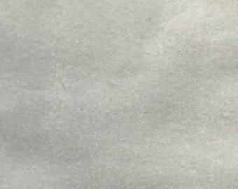 Light Gray Velvet Pillow Cover