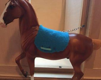 1:9 Traditional Scale Model Horse English Saddle Pad