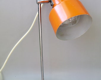 Vintage adjustable table lamp from the 70s , table lamp,desk lamp,reading lamp,Mid Century Modern lamp