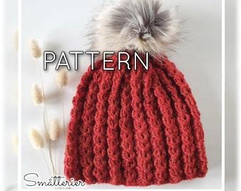 PATTERN: Zainab Beanie ~ knitting hat strikke strikke stricken örgü