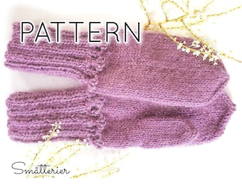 PATTERN: Isabell Mittens ~ knitting strikke örgu stricken oppskrift votter