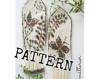 PATTERN: Mulberry Mittens knitting mittens stricken örgü strikke