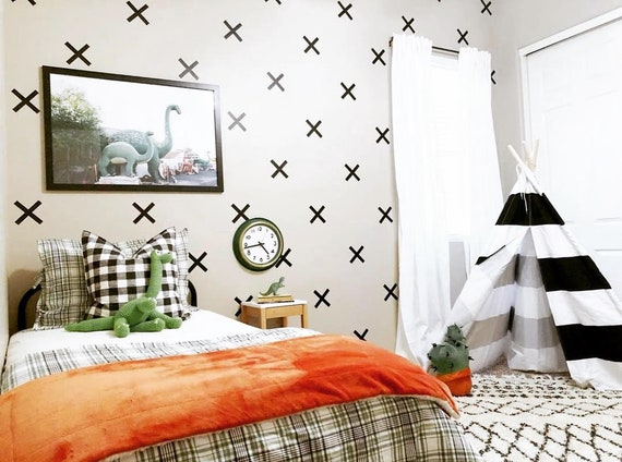 X marks the Spot Cross Shaped Wall Decals - 5 inch on butterfly house plan, heartland house plan, mama house plan, garden house plan, domino house plan,