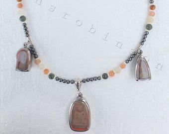 Buddha pendant necklace