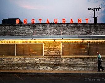 Restaurant Neon - Diner Sign Photograph