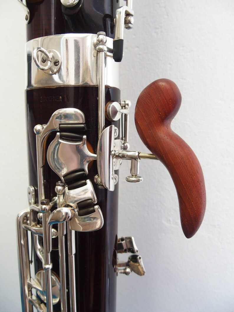 Handmade bassoon handrest (large)
