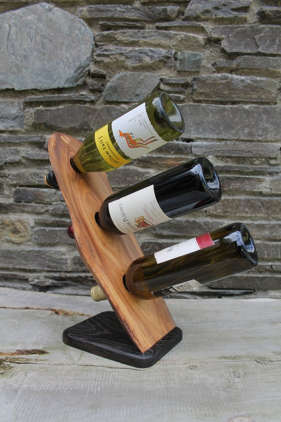 Free Standing Wine Rack Wine Rack Gift Rustic Home Decor Etsy