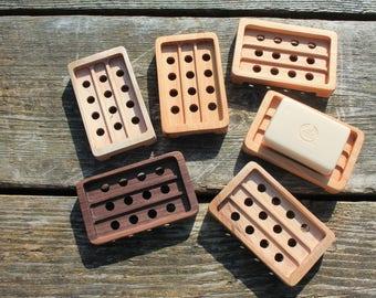 Wooden Soap Dish, Cedar Soap Dish, Fragrant Cedar Soap Dish, Wooden Soap Saver, Rustic Handmade Soap Dish, Soap Dish Tray, Soap Holder