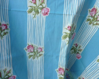 """""""Lovely may"""" coupon upholstery * 0.85 1.26 x cm cm * old stock 1960's"""