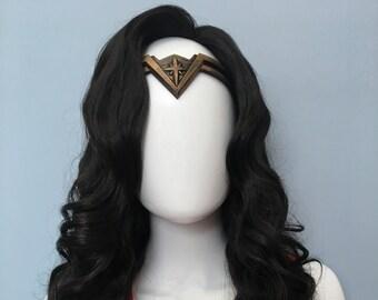 Wonder Woman Wig Almost Black