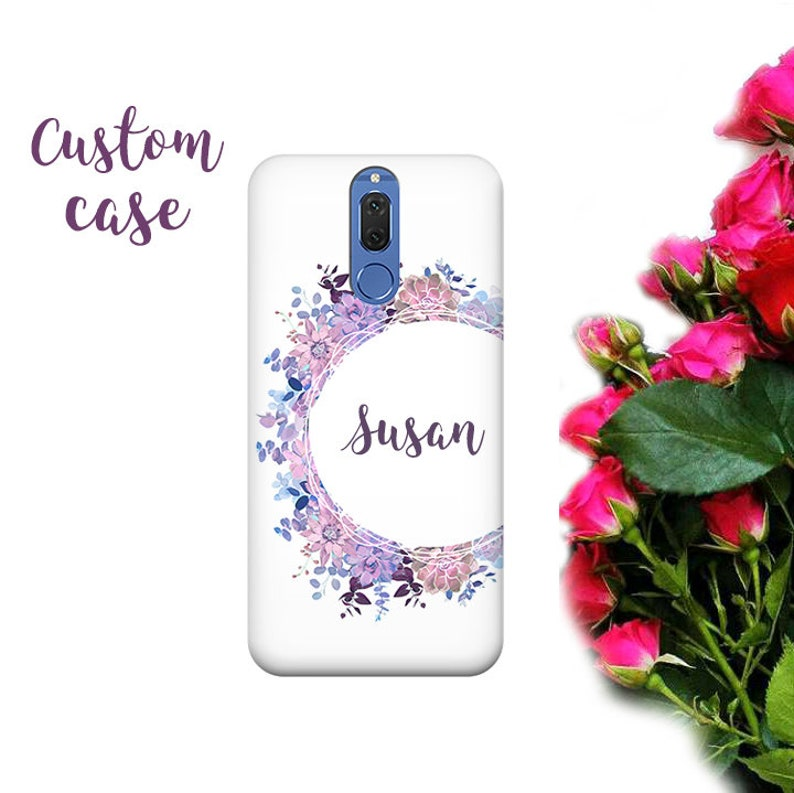 Personalized phone case, Huawei P10, Honor 9, Nova 2 Plus, flowers, P9 plus  case, Mate 20 lite, Honor 10, Mate 10 lite, Huawei Y7, nova3i