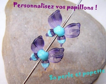 Customize your Butterfly! you choose - glass Butterfly