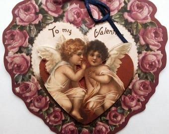 "card 3D ""Valentine heart"""